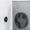 SIGEL, Glas-Magnetboard artverum, schwarz