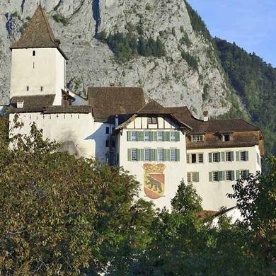 Bild für Kategorie Kant. Verwaltung im Schloss Wimmis
