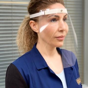 Gesichtsschutz, Corona-Hygieneartikel