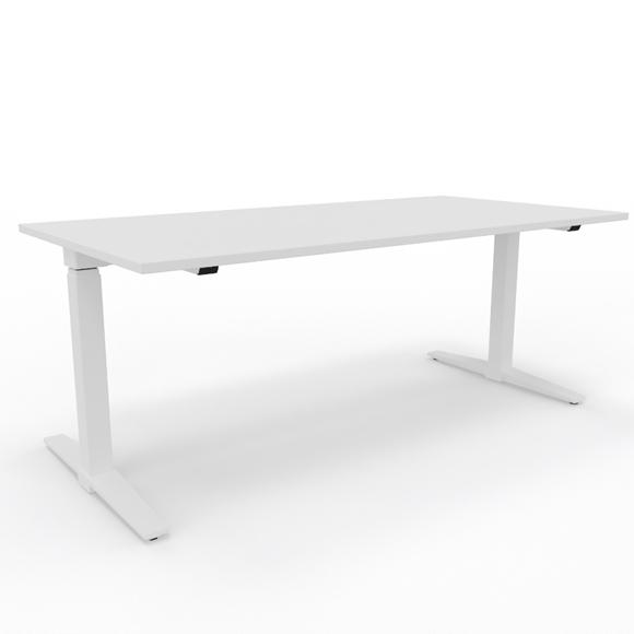 Sitz-/Stehtisch, König+ Neurath, Talo.S, Tisch, Pult, Arbeitstisch, Elektrisch höhenverstellbar, Bürotisch