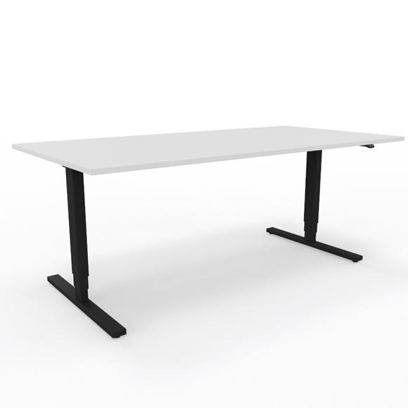 Sitz-/Stehtisch, LO Pure, Lista Office, Tisch, Pult, Arbeitstisch, Elektrisch höhenverstellbar, Bürotisch