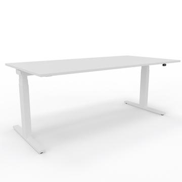Sitz-/Stehtisch Lista Extend, Lista Office, Tisch, Pult, Arbeitstisch, Elektrisch höhenverstellbar, Bürotisch