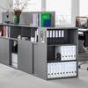 Lista Office LO, LO One, Regal, Schrank, Aktenschrank, Stauraum, Hochregal, Ordnerregal, Korpus, Büroschrank