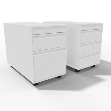 Unterstellkorpus, Lista Office, LO, Korpus, Rollkorpus, Container, Stauraum, Schubladenstock