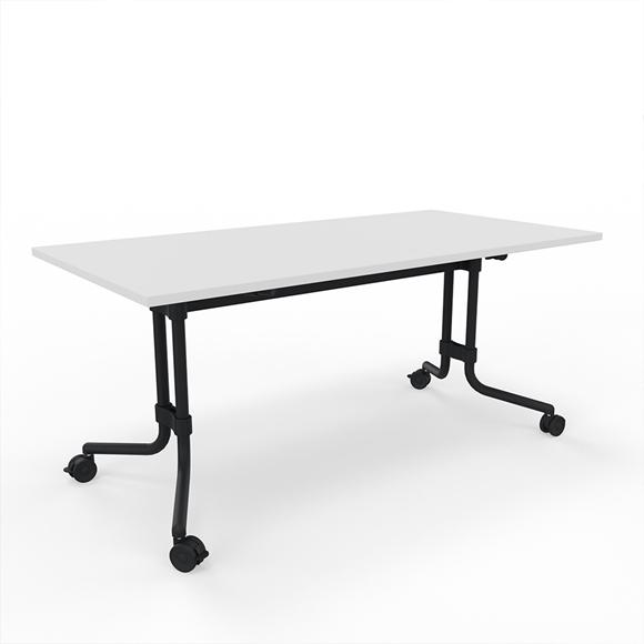 Memo.S, König+ Neurath, Staffeltisch, Klapptisch, Rolltisch, Tisch auf Rollen, Tisch abklappbar, Konferenztisch, Besprechungstisch, Meetingtisch, Meeting, Besprechung, Konferenz, Tisch, Sitzung, Sitzungstisch